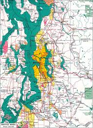 Seattle Demographics Map by Seattle Traffic Map Seattle Area Traffic Map Seattle Traffic