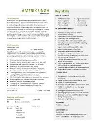secretary resume EJ Legal