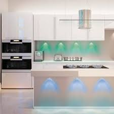 led kitchen ceiling lighting hoover multi color led accent lights with remote control 5 pack