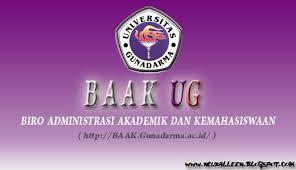 BAAK UNIV. GUNADARMA