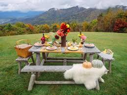 fall entertaining idea farm to table dinner party hgtv