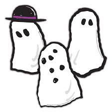 halloween ghost clipart black and white peanuts halloween ghosts assorted paper kids cut outs eureka