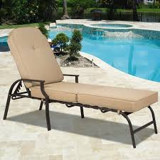 modern chaise lounge sofa best choice products outdoor chaise lounge chair w cushion pool