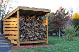 Free Firewood Shelter Plans by Firewood Storage Sheds To Store Wood For Winter From East Coast Shed