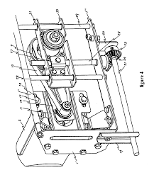 Bosch Table Saw Parts by Patent Us7895929 Blade Driving Mechanism For A Table Saw
