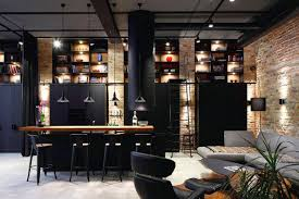 rustic industrial home decor with dark kitchen decoration rustic industrial home decor with dark kitchen decoration