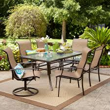 Martha Stewart 7 Piece Patio Dining Set - patio dining sets outdoor dining chairs kmart
