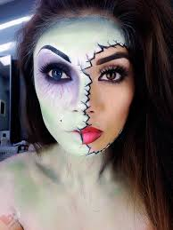 halloween zombie makeup lady art looks diy u0026 crafts