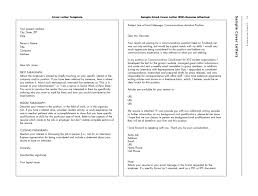 Cover Letter For Resume Examples For Students by Sample Email Cover Letter For Resume Jennywashere Com