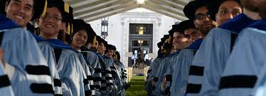 News   Columbia University   Graduate School of Arts and Sciences Columbia University   Graduate School of Arts and Sciences The Ph D  Convocation Ceremony celebrated more than     graduates earning the Ph D  and D M A  degrees  Ari Ezra Waldman  a Ph D  candidate in the