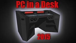 Gameing Desk by Furniture Ultimate Gaming Pc In A Desk 2015 And Roccaforte