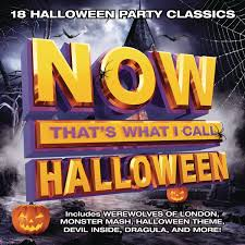 Monster Halloween List by Various Now That U0027s What I Call Halloween Amazon Com Music