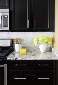 How To Put Backsplash In Kitchen Installing A Subway Tile Backsplash For 200 Young House Love