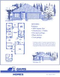 Home Floor Plans And Prices by House Plan Adams Homes 3000 Floor Plan Adams Homes Adams