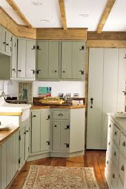 farmhouse kitchen sets white spray paint wooden island dark brown