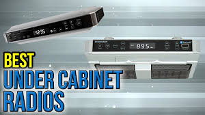 Kitchen Tv Under Cabinet by 6 Best Under Cabinet Radios 2017 Youtube