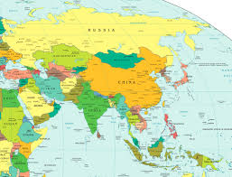 Western Europe Political Map by Africa And Asia Political Map Adriftskateshop