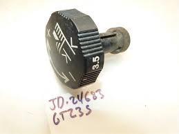 john deere gt 235 tractor height adjustment knob what u0027s it worth