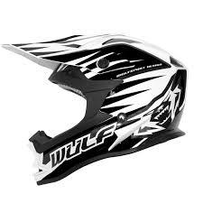 white motocross helmets wulfsport advance black white motocross helmet acu gold mx enduro