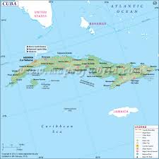 Map Of Florida Cities And Towns by Map Of Cuba Cuba Map
