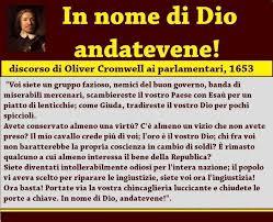 Citazione di Oliviero Cromwell
