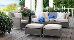 Black Wicker Patio Furniture Sets - patio amazing walmart outdoor tables wicker deck furniture used