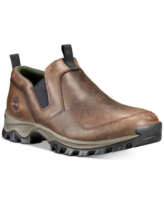 Timberland Mt. Maddsen Slip On Shoes Dark Brown Medium 8 TB0A1QLSD71-80-Medium