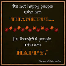 inspirational thanksgiving visual quote thankful people are happy stacy loves