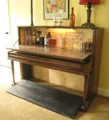 repurposed piano wet bar the piano wet bar is made from a vintage