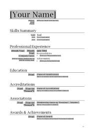 Simple Resume Examples by Download How To Write A Simple Resume Haadyaooverbayresort Com