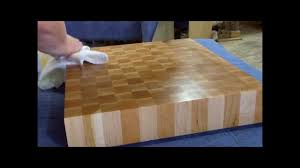 end grain butcher block youtube