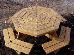 Free Wooden Picnic Table Plans by Round Picnic Table Plans Woodworking Pinterest Round Picnic