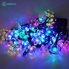 Blue Led String Lights by Online Get Cheap Solar Led String Lights Color Aliexpress Com