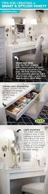 Space Saving Closet Ideas With A Dressing Table Best 25 Dressing Table Storage Ideas On Pinterest Makeup