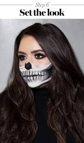 skeleton makeup tutorial halloween 2017 the prettiest skeleton