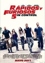 Rapidos y Furiosos 5 (2011) [Latino]
