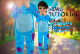 Halloween Costume Monsters Inc Sims 3 Tutorial Sully Monster University Costume Youtube
