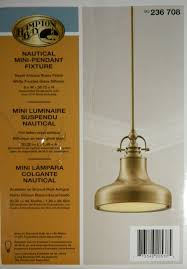 Nautical Lighting Pendants Nautical Mini Pendant Light Antique Brass Ceiling Pendant