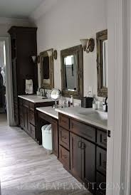 Gray Floors What Color Walls by Best 25 Dark Cabinets Bathroom Ideas Only On Pinterest Dark