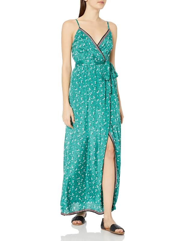 Billabong Soft Seas Maxi Dress EBY-EmeraldBay S