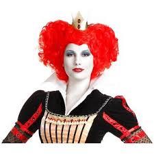 Red Queen Halloween Costume Queen Hearts Wig Ebay