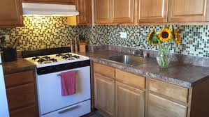 Kitchen Cabinet Under Lighting Decor Exciting Peel And Stick Mosaic Tile Backsplash With Under