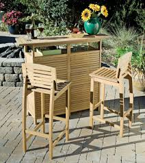 Teak Wood Patio Furniture Set - what u0027s the best outdoor bar set for your pool or patio outdoor bar