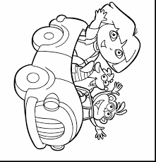 awesome dora printable coloring pages for kids with coloring pages