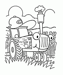 free printable tractor coloring pages for kids the six bottom