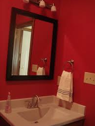 bathroom design awesome red and black bathroom ideas dark red