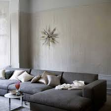 TwoColor Wall Paint Ideas Tips For Moody Walls Home Design - Wallpaper living room ideas for decorating