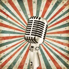 vintage wall murals retro wallpaper by loveabode com vintage microphone wall mural