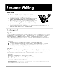 Profile Section Of Resume Examples by Resume How To Create A Resume For First Job General Cover Letter