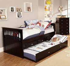 Bedroom Furniture Espresso Finish Amazon Com American Furniture Classics 2935 Tre Rake Bed Twin